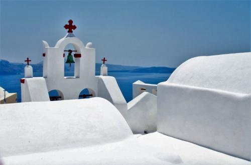 a vela in grecia - white