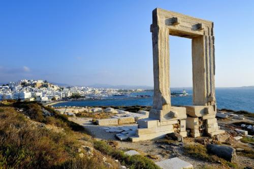 a vela in grecia - naxos